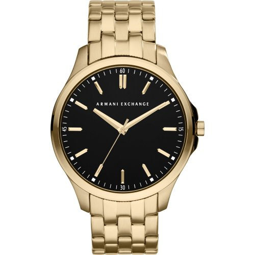 Armani Exchange AX2145 Black Dial Gold-Tone Stainless Steel Watch