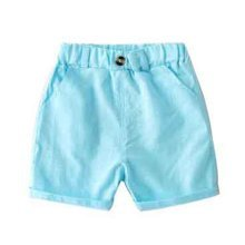 Baby Boy Short Pants Cute Short Pants for Summer Suitable for 100cm [A]