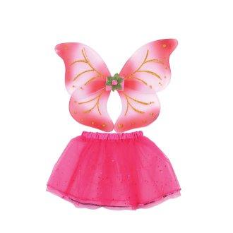 Bristol Novelty Childrens/Kids Fairy Wings And Tutu Set