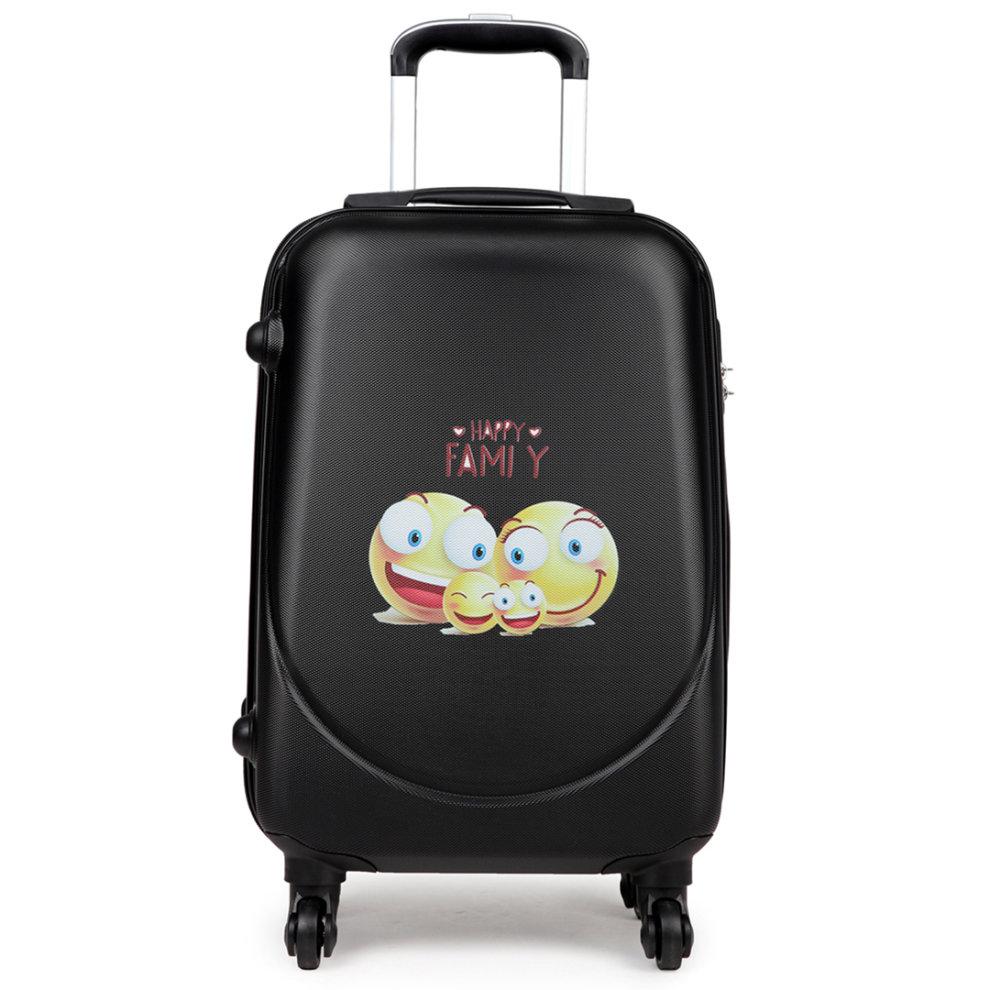 kono luggage suitcase cabin travel trolley case 4 wheel. Black Bedroom Furniture Sets. Home Design Ideas