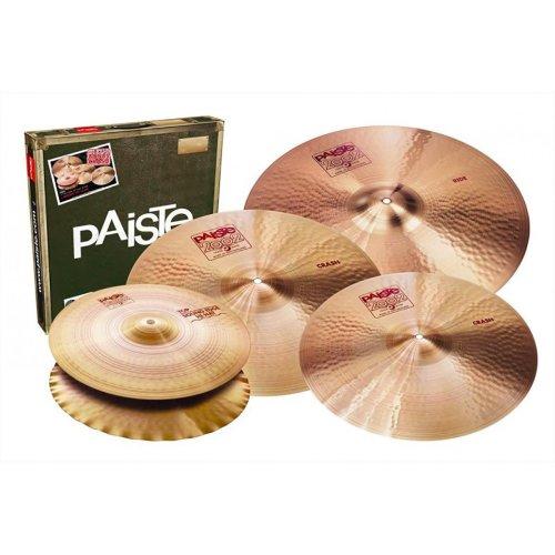 "Paiste 2002 Cymbals Classic Universal Box Set + 18"" Crash"