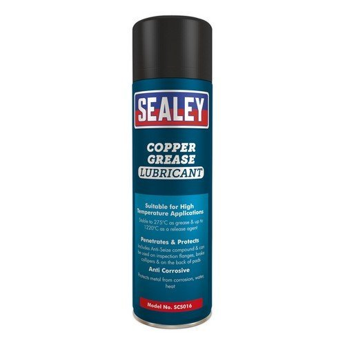 Sealey SCS016 Copper Grease Lubricant 500ml Pack of 6