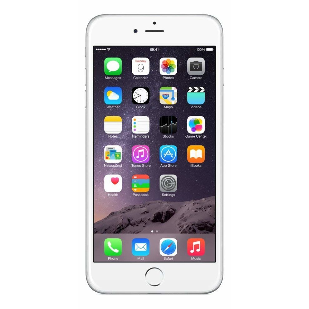 Three, 64GB Apple iPhone 6 Plus Silver