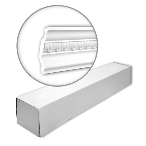 Profhome 150255 Cornice moulding 1 Box 8 pieces | 16 m