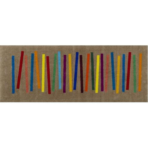 wash+dry 055327 Doormat 80 x 200 cm Stripes