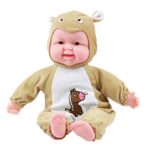 Lifelike Realistic Baby Doll/ Zodiac Doll/ Soft Body Play Doll, Horse Baby Doll