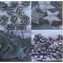 4 x Christmas Paper Napkins - Winter Impressions - Ideal for Decoupage