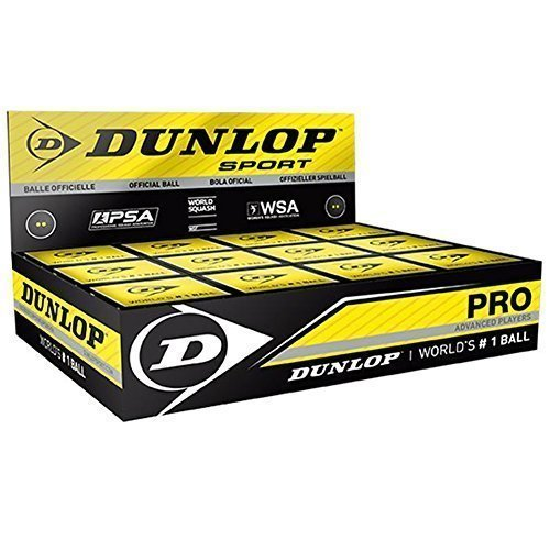 Dunlop Sports Pro XX Squash Ball Dozen Pack