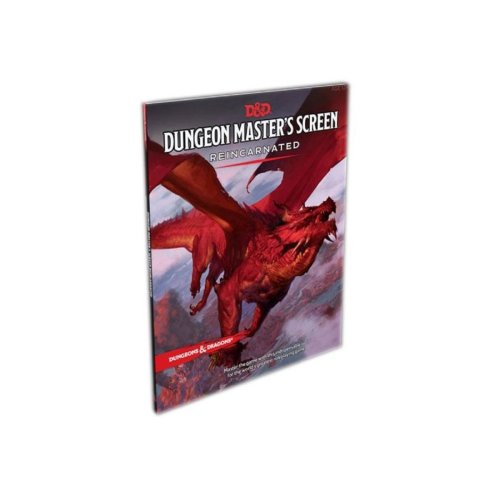 Dungeons & Dragons RPG Dungeon Masters Screen Reincarnated