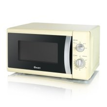 Swan Solo Microwave 800W 20L Capacity - Cream (Model No. SM40010CREN)