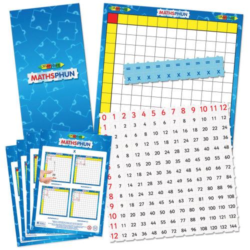 Morphun Mathsphun Multiplier Board Set - Educational Resources