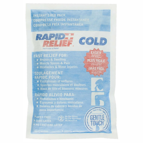 Rapid Relief Instant Cold Pack with Gentle Touch