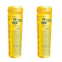 Spa Frog Bromine Cartridge Dosing System - Replacement Bromine Cartridge - Yellow