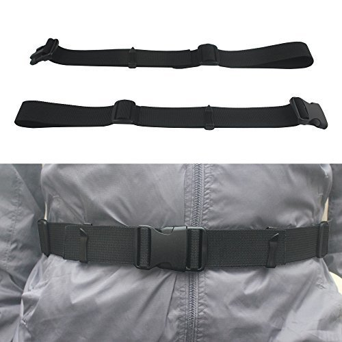 Yyst One Backpack Waist Belt Backpack Waist Strap Universal Fit With Buckle Black