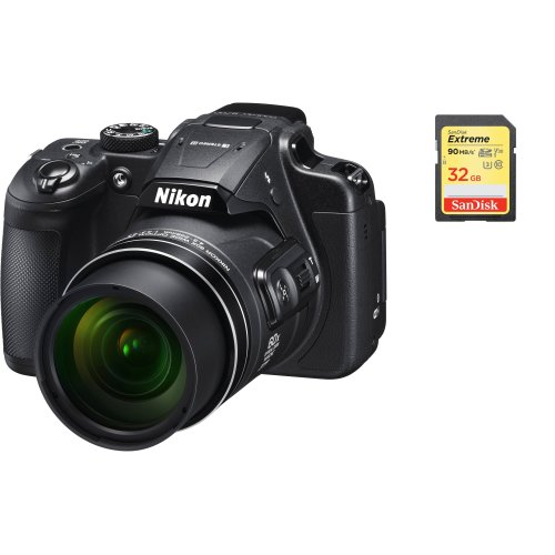 NIKON B700 Body Black + SanDisk Extreme 32G SD card