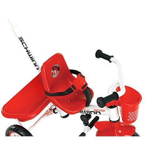 Schwinn Easy Steer Tricycle Red White