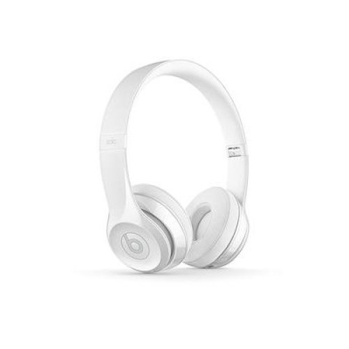 Beats by Dr. Dre MNEP2ZM/A Solo3 Wireless On-Ear Headphones - Gloss White