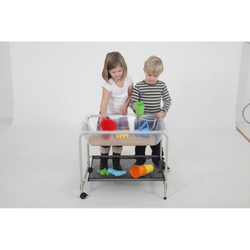Childrens Clear Sand & Water Tray with Stand (72330) - Nursery/School