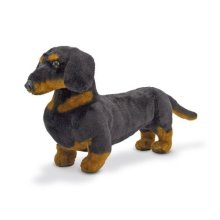 Melissa & Doug Giant Dachshund Lifelike Stuffed Animal Dog Soft Polyester