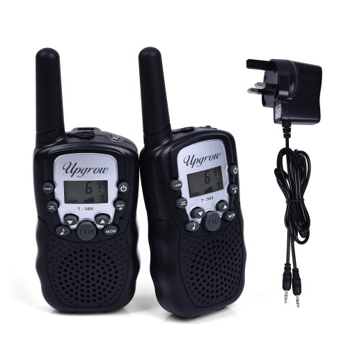 Upgrow 2pcs RT-388 Kids Walkie Talkies Children Walky Talky 0.5W 8 Channels PMR446MHz Rechargeable 2 Way Radio for Children 2-3 Km Range, UK...