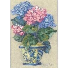 D16051 - Dimenions Mini Crewel - Colorful Hydrangea