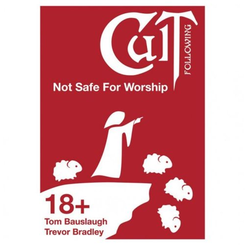 Bravely Told Games BTGCF03 Cult Following - Not Safe for Worship Board Game