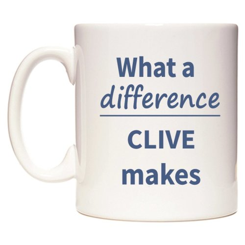 What a difference CLIVE makes Mug