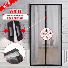 Hands Free Magic Magnetic Mesh Anti Fly Mosquito Bug Door Curtain Screen Net