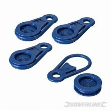 Pack Of 4 Tarpaulin Clips