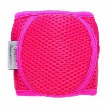 Baby Crawling Knee Pads Adjustable Elbow Kneepads Arm Pads For Toddler, Rose Red