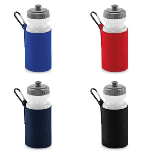 Quadra Water Bottle And Fabric Sleeve Holder