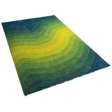 Carpet - Rug -turquoise - polyester - EFEZ