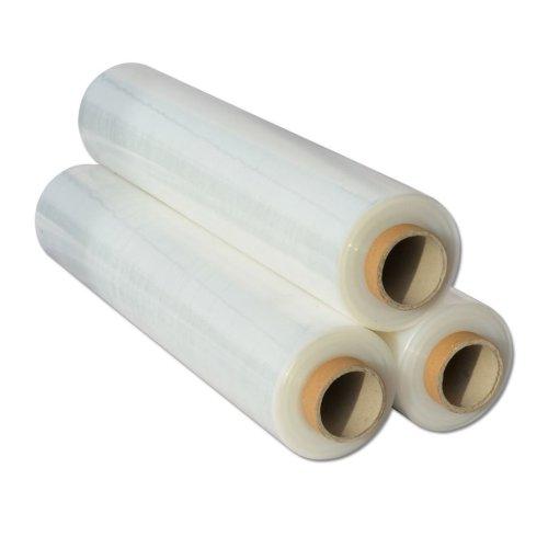 6x  Shrink Wraps Heavy Duty Clear Pallet Wrap Stretch Film 500mm x 450m 23mu 3kg