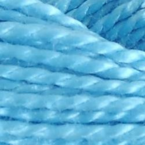DMC Pearl Cotton Ball Size 8 87yd-Light Bright Turquoise