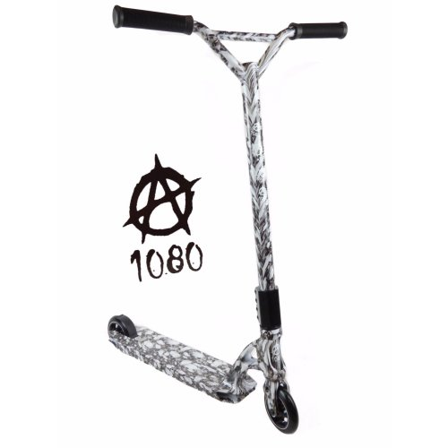 1080 Kids Push Kick Alloy Stunt Scooter Gothic Skull Skeleton Design Limited Edition