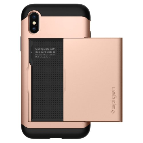 the latest 236c7 12bcb Spigen Slim Armor CS Case For Mobile Phone - Rose Gold