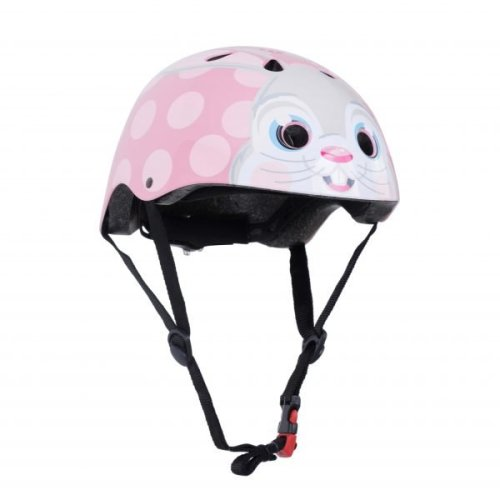 Kiddimoto Children's Bike / Scooter / Skateboarding Helmet - Bunny Design