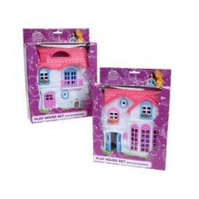 1 X Small Dolls House Home With Furniture Play Set Toy Gift For Kids