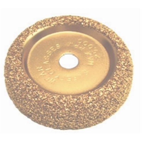TI10 2.5 in. Tungsten Coated Buffing Wheel - 36 Grit