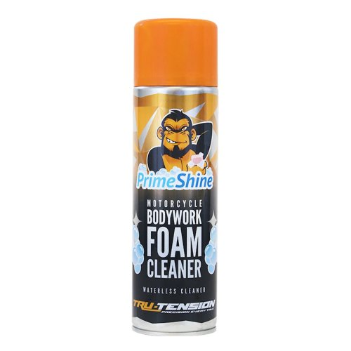 Tru-Tension Primeshine Motorcycle Bodywork Foam Cleaner 500ml