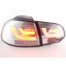 Led Rear lights VW Golf 6 type 1K Year 2008-2012 chrome with led indicator