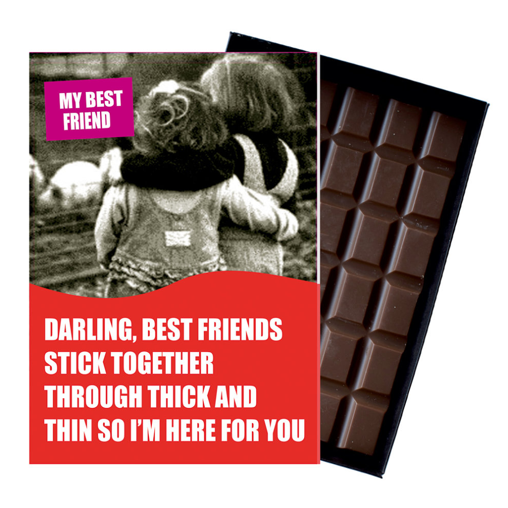Funny Birthday Gift For Women Best Friend Or Girlfriend Boxed Chocolate Present On OnBuy