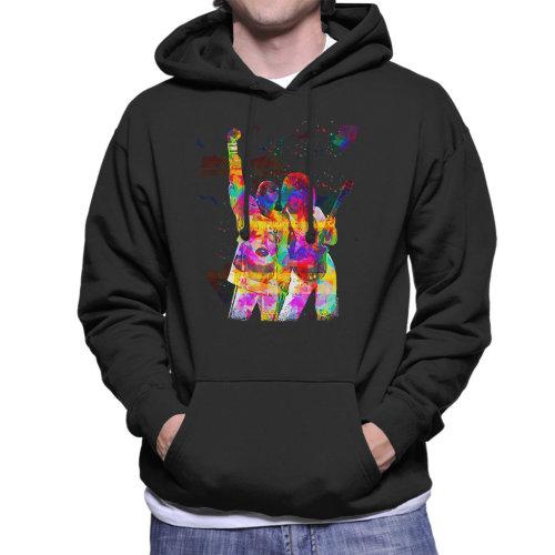 Brian May And Freddie Mercury 1989 Men's Hooded Sweatshirt