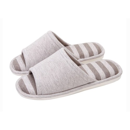 (Made By Cotton)Skidproof The Simple Style Of Home Slippers(Brown)
