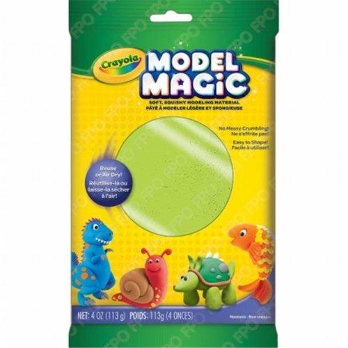 Crayola 57-6001-095 Crayola Model Magic 4oz-Neon Green