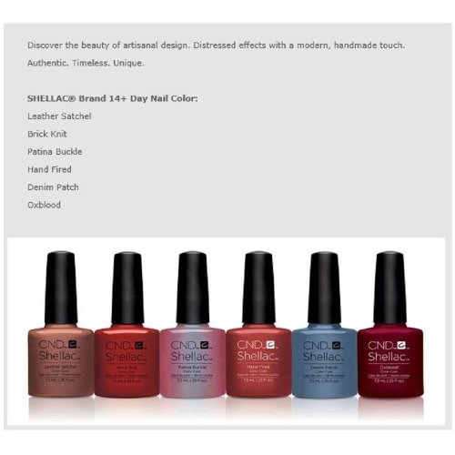 Cnd Shellac Craft Culture Collection 2016