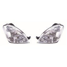 Iveco Daily 2006-2012 Headlights Headlamps 1 Pair O/s & N/s