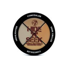 W7 Hide 'n' Seek Concealer Quad- Natural