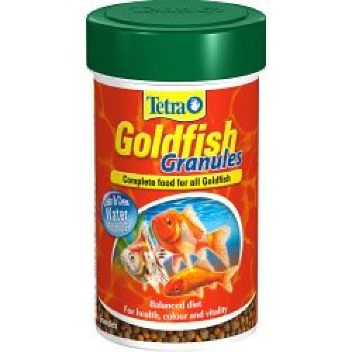 32g Tetra Goldfish Granules -  goldfish granules 32g food