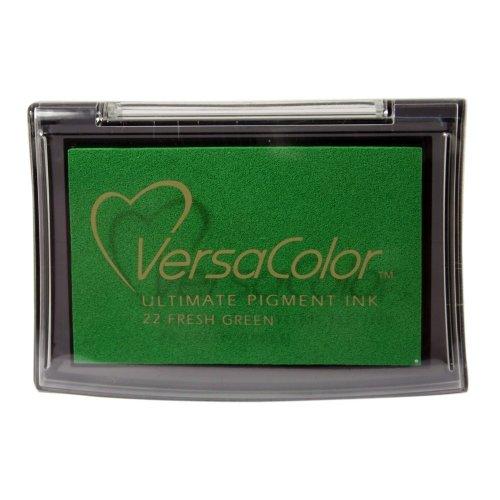 Tsukineko VC022 Versacolor Fresh Ink Pad, Green